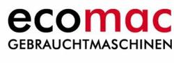 Logo ecomac Gebrauchtmaschinen GmbH