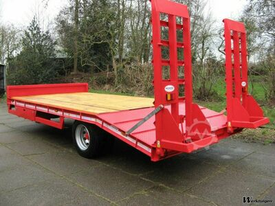 McKee 10 tons ramp, net payload: 8 tons