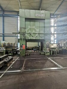 800to press + coil line and straightening machine