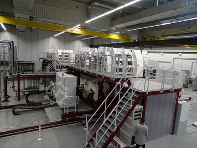 CIGS roll-to-roll production line