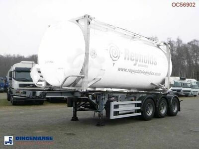 Sdc 3 axle container trailer 20 30 ft + pump
