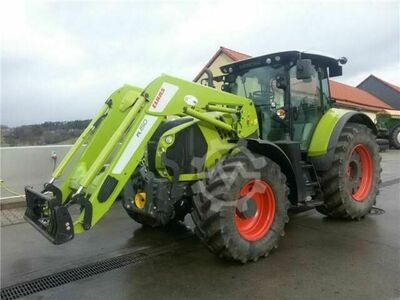 Claas Arion 650 + FL 150 + MaxiCare