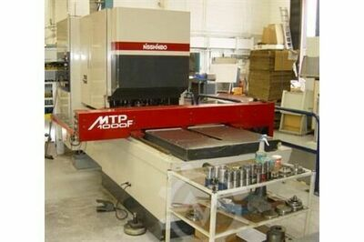 NISSHINBO MTP-1000F 22 ton, 22 Station CNC Turret Punch, 2 Auto Index Units