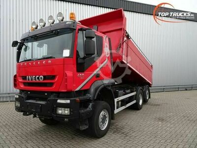 Iveco Trakker AT190TW45 6x4 Hardox kipper Lift Stuu