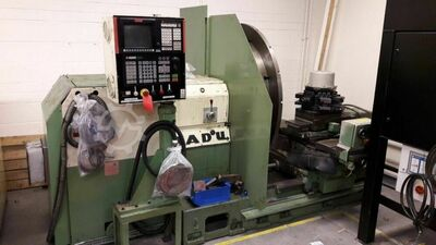 TADU FS750 CNC Facing Lathe. NUM T Plus Control. 1450mm swing