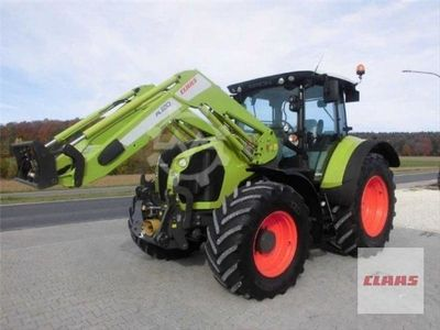 Claas ARION 550 + FRONTLADER FL 120