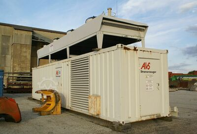 AVS Aggregat Container (V12 Turbodiesel)
