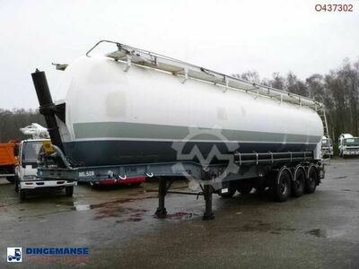 Benalu Powder tank alu 58 m3 (tipping)