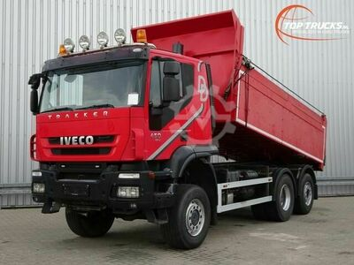 Iveco Trakker AT190TW450 6x4 Hardox kipper Lift Stu