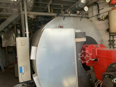 steam boiler; LOOS-8000kg/h-16Bar