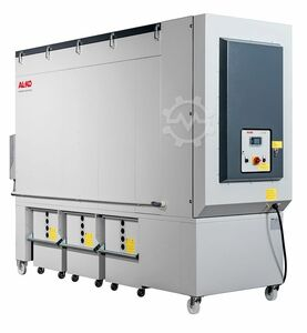 Clean air extraction system frequency converters