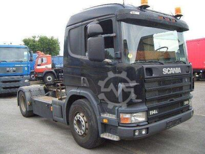 Scania 114 L 340 4x2 1 Liege Opticruise Alcoa Felgen