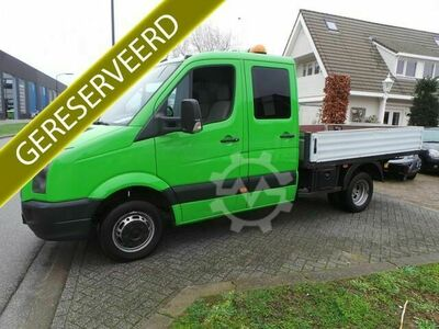 VW Crafter 50 2.5 TDI L2 3pers Pick up Airco,Dubbel l