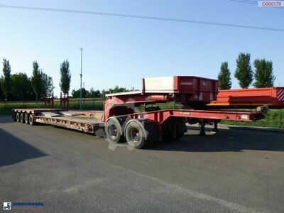 Nooteboom 5 axle lowbed trailer + dolly / 8.5 m / 110 t