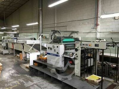 SPOT VARNISHER met Prepress Dupont