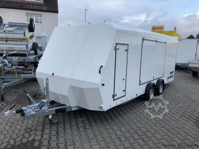 Brian James Trailers Race Sport, 340 5510, 5500 x 2100 mm, 3,0 to. 100