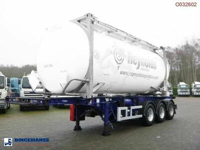 Sonstige/Other M & G 3 axle container trailer 20 30 ft
