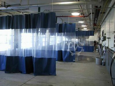 INDUSTRIAL CURTAIN WALLS & DIVIDERS