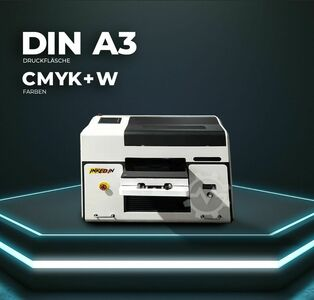 UV LED Digital Printer Direct Printer A3