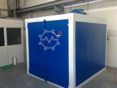 Powder coating machine, starter kit