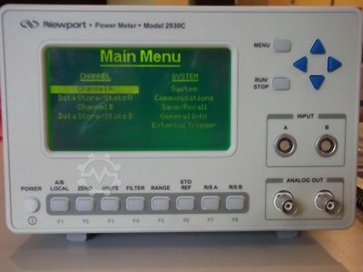 Dual-Channel Optical Power Meter
