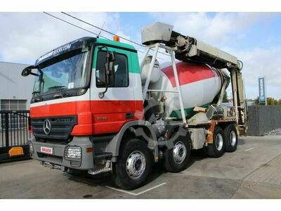 Mercedes-Benz ACTROS 3241 STETTER 8M³ + Tapis/Band THEAM