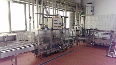 KEG Internal Cleaning and Filling Machine