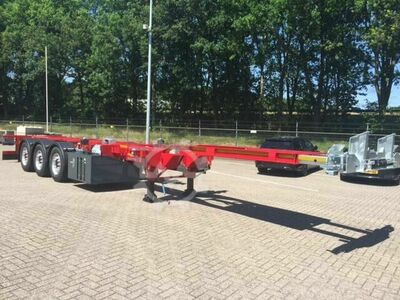Sonstige/Other LeciTrailer Multi Container Chassis Voor, midden e