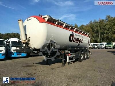 Feldbinder Powder tank alu 45 m3 (tipping)