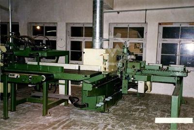 GreCon 400/6.1 m   fingerjointing