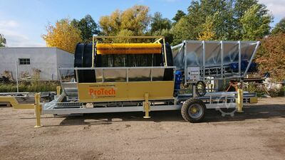 NEW Drum Sieve Electric Semi-Mobile