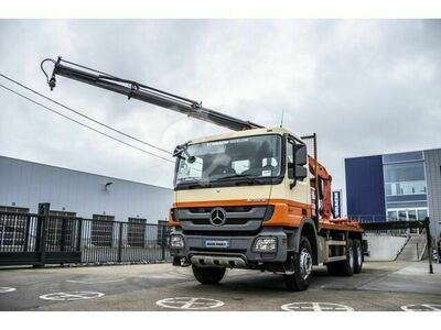 Mercedes-Benz ACTROS 3341 MP3 + PK15500(3XHYDR.)