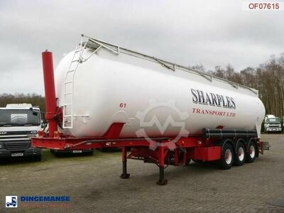 Feldbinder Powder tank alu 58 m3 (tipping)