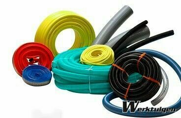 PVC suction / press hoses / flat roll up bar