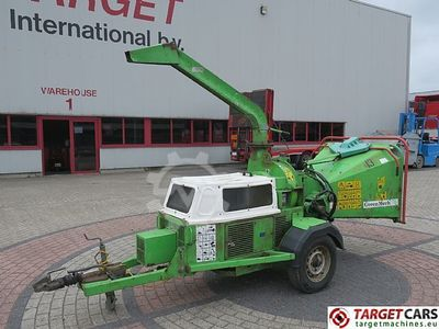 GreenMech ARB19-28MT50D Diesel 50HP Wood Chipper Häcksler