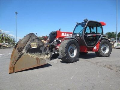 Manitou MLT 741 120 LSU Turbo Powershift