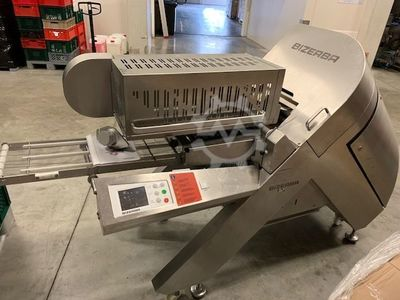 Bizerba A510 industrial slicer with scal