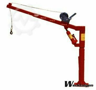 Barntools Trailer loading crane high 450 Kg with handl