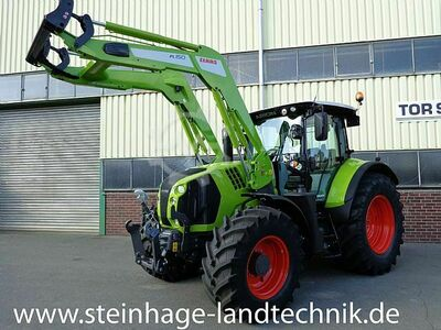 Claas Arion 650 CMATIC mit Frontlader/FKH/FZW