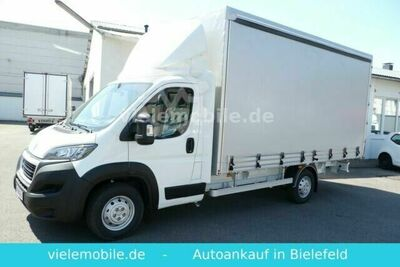 Peugeot Boxer Pritsche+Plane Extra Lang,