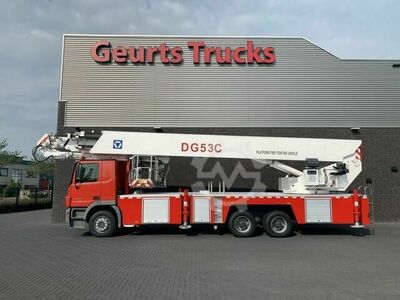 Mercedes-Benz ACTROS 3332 6X4 XCMG DG53C FIRE FIGTHING PLATFORM