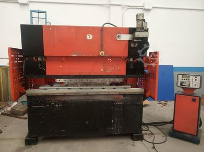 Set of folding machine and shear of 2 mts