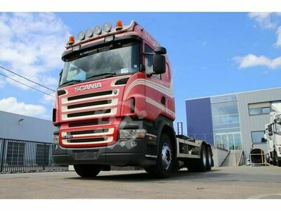 Scania R420 10 Tires Hooklift