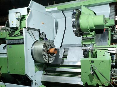 oil country  hollow spindle  cnc lathe