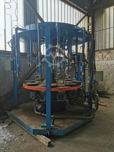 Glass Spinning table for tableware prod