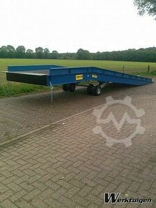 Loading ramp Length 11 meters