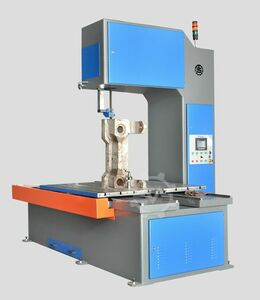BLOCK PLATE METAL CUTTING BAND SAW MACHI