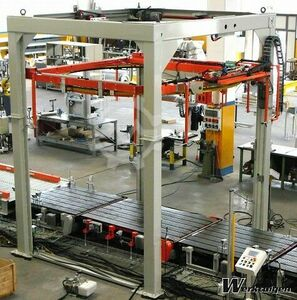 MJ Maillis group Fully automatic wrapping machine