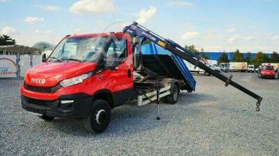 Iveco Daily 72C17 ABROLLKIPPER 3,6m/KRAN 1,8t/ahk