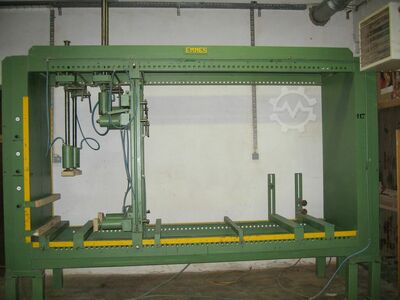 Pneumatic press for furniture assembly